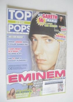 Top Of The Pops magazine - Eminem cover (September 2002)