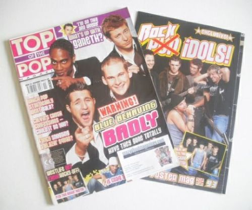 <!--2002-11-->Top Of The Pops magazine - Blue cover (November 2002)