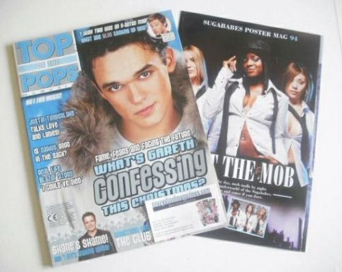 <!--2002-12-->Top Of The Pops magazine - Gareth Gates cover (December 2002)