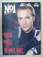 <!--1985-12-07-->No 1 Magazine - Midge Ure cover (7 December 1985)