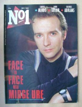 No 1 Magazine - Midge Ure cover (7 December 1985)