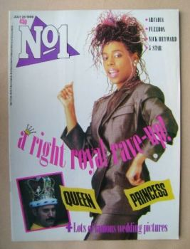 No 1 Magazine - Princess cover (26 July 1986)