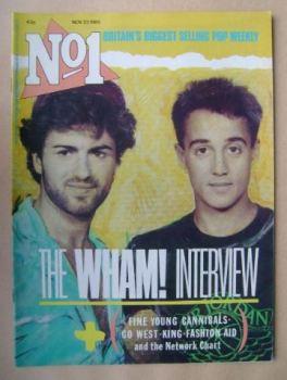 No 1 Magazine - Wham! cover (23 November 1985)