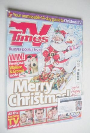 <!--2008-12-20-->TV Times magazine - Christmas Issue (20 December 2008 - 2