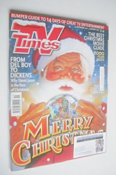 <!--2001-12-22-->TV Times magazine - Christmas Issue (22 December 2001 - 4