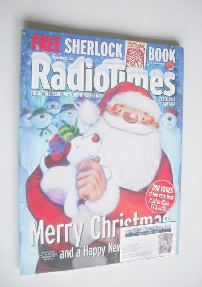 <!--2013-12-21-->Radio Times magazine - Christmas 2013 Double Issue (21 Dec