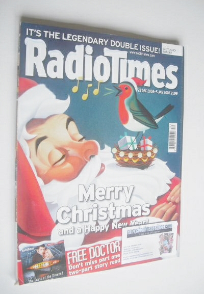 Radio Times Magazine Christmas Amp New Year Issue 23 December 2006 5 January 2007