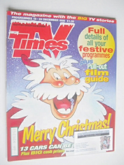 <!--1995-12-16-->TV Times magazine - Christmas Issue (16-29 December 1995)