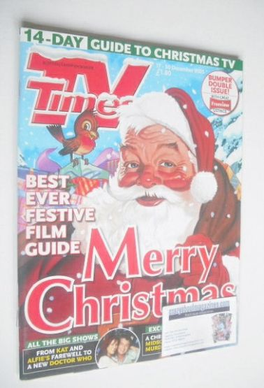<!--2005-12-17-->TV Times magazine - Christmas Issue (17-30 December 2005)