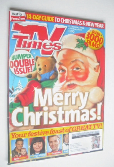 <!--2006-12-23-->TV Times magazine - Christmas Issue (23 December 2006 - 5