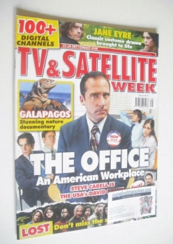 TV & Satellite Week magazine - Steve Carell cover (23-29 September 2006)