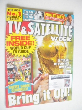 TV & Satellite Week magazine - World Cup cover (3-9 June 2006)
