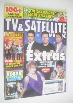 TV & Satellite Week magazine - Extras cover (9-15 September 2006)