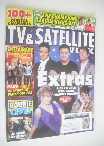 <!--2006-09-09-->TV&Satellite Week magazine - Extras cover (9-15 September