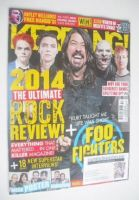 <!--2014-12-13-->Kerrang magazine - The Ultimate Rock Review cover (13 December 2014 - Issue 1547)