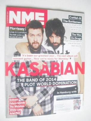 <!--2014-12-13-->NME magazine - Kasabian cover (13 December 2014)