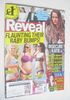 Reveal magazine - Baby Bumps cover (7-13 June 2014)