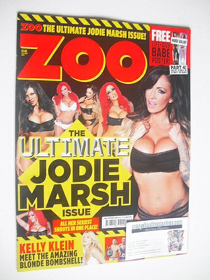 <!--2014-11-21-->Zoo magazine - Jodie March cover (21-27 November 2014)