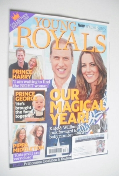 Now Special Issue - Prince William and Kate Middleton cover (December 2014)