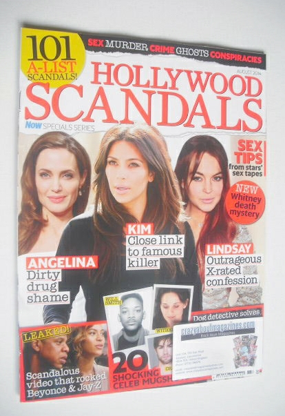 <!--2014-08-->Now Special Issue - Hollywood Scandals cover (August 2014)