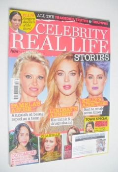 Now Special Issue - Celebrity Real Life Stories cover (October 2014)