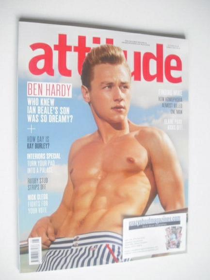 <!--2014-08-->Attitude magazine - Ben Hardy cover (Summer 2014)
