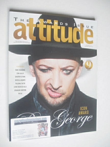 <!--2014-11-->Attitude magazine - Boy George cover (November 2014)