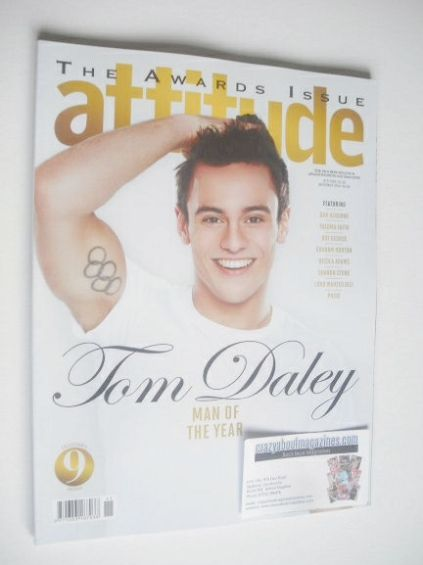 <!--2014-11-->Attitude magazine - Tom Daley cover (November 2014)