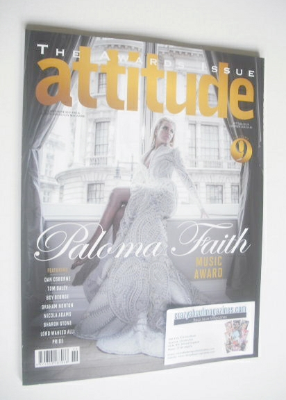 <!--2014-11-->Attitude magazine - Paloma Faith cover (November 2014)