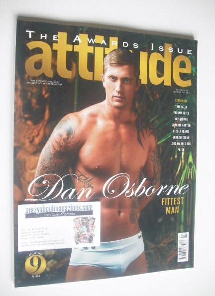 <!--2014-11-->Attitude magazine - Dan Osbourne cover (November 2014)