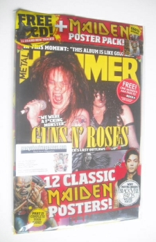 Metal Hammer magazine - Guns N' Roses cover (December 2014)