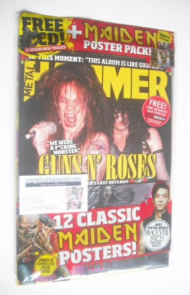 <!--2014-12-->Metal Hammer magazine - Guns N' Roses cover (December 2014)