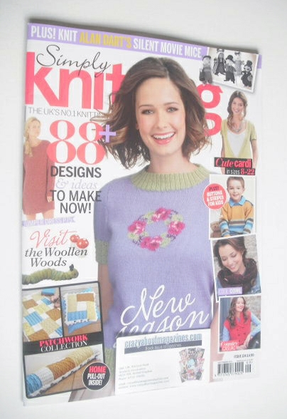 <!--2014-09-->Simply Knitting magazine (Issue 124 - September 2014)
