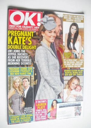 <!--2014-11-04-->OK! magazine - Prince William and Kate cover (4 November 2