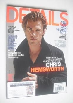 Details magazine - November 2013 - Chris Hemsworth cover