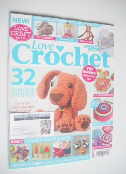 Love Crochet Magazine September 2014 Issue 10
