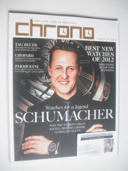 Chrono magazine - Michael Schumacher cover (Issue 10 - 2012)