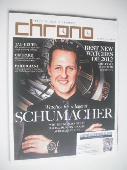 Chrono magazine - Michael Schumacher cover (Issue 10 - 2012)