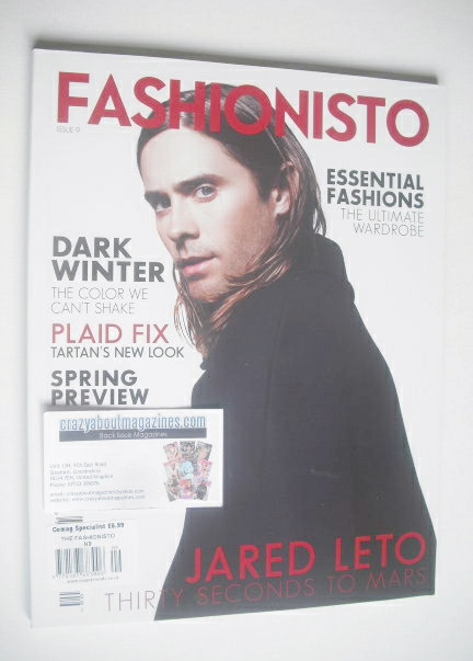 Fashionisto magazine - Jared Leto cover (Winter 2013/14 - Issue 9)