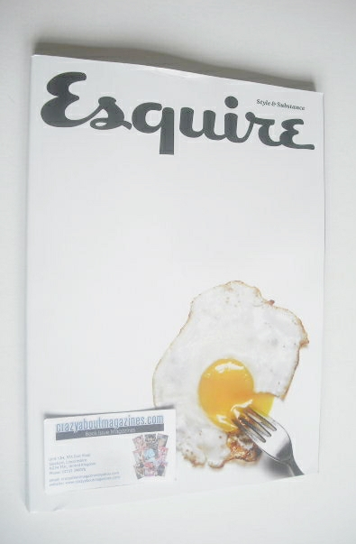 <!--2014-12-->Esquire magazine - Fried Egg cover (December 2014 - Subscribe