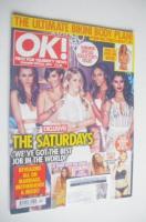 <!--2014-08-01-->OK! magazine - The Saturdays cover (Summer Special 2014)