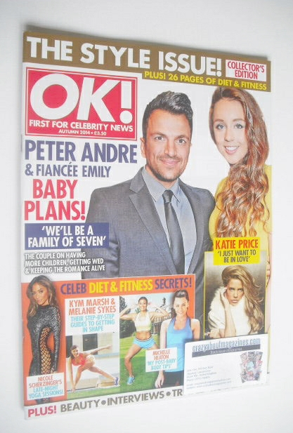 <!--2014-09-01-->OK! magazine - The Style Issue Collector's Edition (Autumn