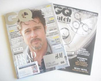 British GQ magazine - November 2014 - Brad Pitt cover