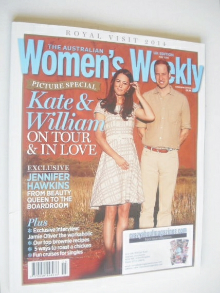 The Australian Women's Weekly magazine - Prince William and Kate cover (May