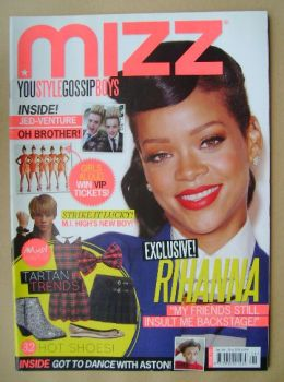 MIZZ magazine - Rihanna cover (3 - 23 January 2013)