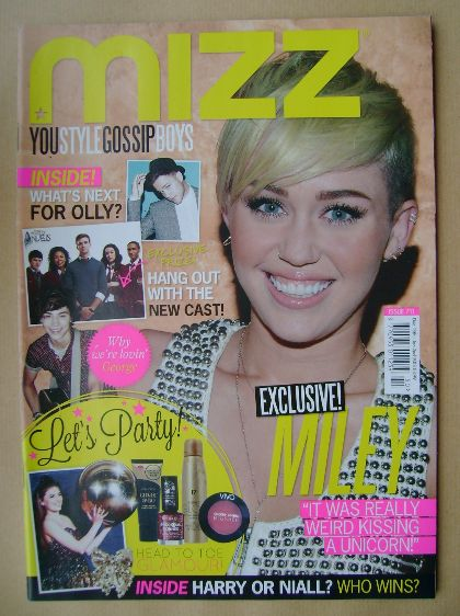 <!--2012-12-13-->MIZZ magazine - Miley Cyrus cover (13 December 2012 - 2 Ja