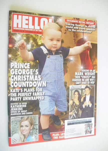 <!--2014-11-17-->Hello! magazine - Prince George cover (17 November 2014 -