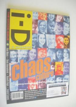 i-D magazine - Chaos Culture cover (April 1990)