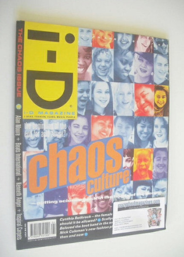 <!--1990-04-->i-D magazine - Chaos Culture cover (April 1990)