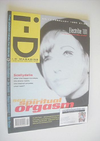 <!--1990-02-->i-D magazine - Billie Ray Martin cover (February 1990)